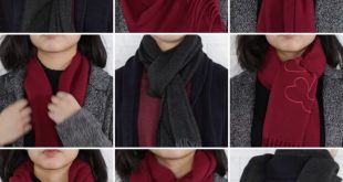 9 Classy Ways To Wear A Winter Scarf #winter #fashion #scarfh