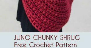 Juno Chunky Shrug Free Crochet Pattern 2019 Juno Chunky Shrug Free Crochet Pat...