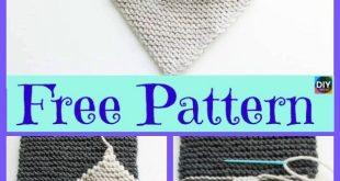 5 süßeste Knitting Fox Scarf Free Patterns #freeknittingpatterns #fox #schal