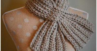 50+ Easy Crochet Scarf Patterns for Beginners | Easy Crochet Ideas