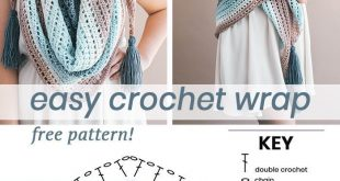Crochet Wishing Well Wrap
