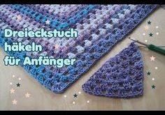 """Häkeltuch, Tuch """"Rucki Zucki"""" häkeln für Anfänger, DIY Anleitung by NeleC. -..."""