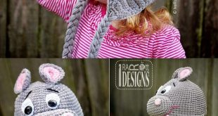 This free stitch example is for a twofold knit beanie worked utilizing a cartoon...