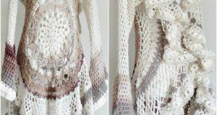 12 Free Crochet Patterns für die Kreis Weste Jacke