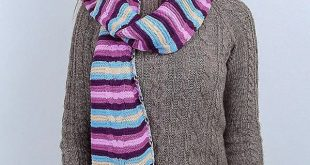 47+ Free and Quick and Modern Crochet Scarf Pattern for 2020 Part 19
