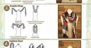 19 Super Ideas How To Wear Scarves Fashion Tutorials