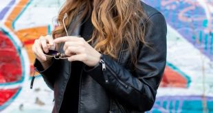 46 Ways to Wear Leather Jacket Outfit this Fall