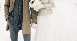 Brautkleider im Winter-Style