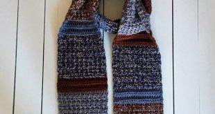 Crochet Scarf PATTERN for Men, Mens Scarf Crochet Pattern, Instant Digital Download, Winter Scarves for Men, Mens Crochet Patterns, PDF, DIY
