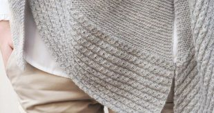 Dreieckstuch stricken - Erna ist online