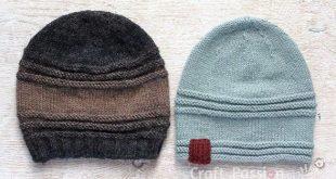 Easy Beanie Pattern - Men & Women - Free Knit Pattern