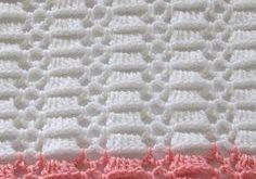 Easy Crochet Blanket for Baby, Perfect for Beginners