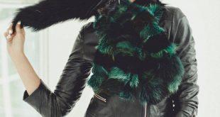 Fox Fur Scarf - Detachable Collar Jacket - Neckwarmer for Winter Coat