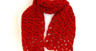 Free Crochet Pattern...Love Notes Scarf!