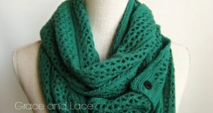 Grace and Lace - The Nellie Knit Scarves, $38.00 (www.graceandlace....)