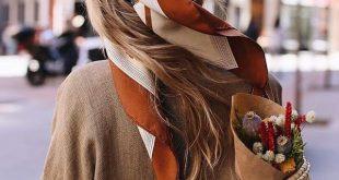Hair Scarf | einfache Frisuren mit Haarband für den Sommer | Sommer-Frisur mit ...