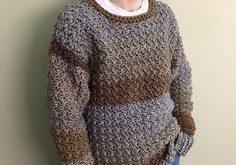 Link Blast: 10 Free Crochet Patterns for Sweaters for Men