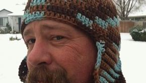 Men's Earflap Hat (free crochet pattern): one of our most popular patterns, rega...