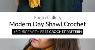 Modern Day Shawl Crochet