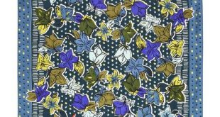 NWT Vera Bradley Square Scarf In Falling Flowers ONLY ONE! Pattern: Falling Flo...