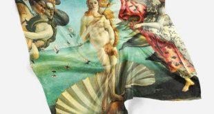 The Birth Of Venus Bandana Women Scarf Sandro Botticelli Scarf Square Women Scarf Charmeuse Scarf Hair Bandana Scarf Scarves For Men Scarf