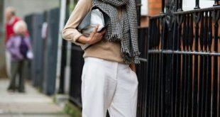 Wie man Style: Winter übergroße Schals für Frauen